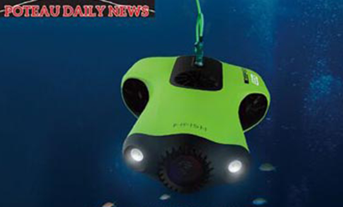 FIFISH P3 Underwater Robotic Vehicle Dives Into the Blue With True Cinematic 4K Video