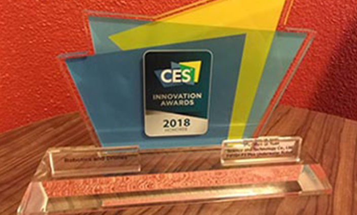 FIFISH is Honored with CES 2018 Innovation Award
