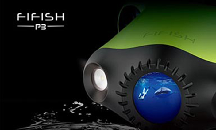 QYSEA FIFISH P3 Is an Unprecedented Underwater Drone for Professional Shooting