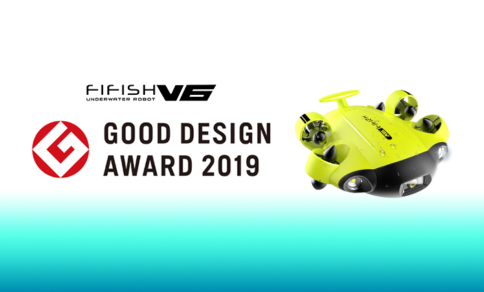FIFISH V6 Underwater Drone Wins the Coveted International Design Award!